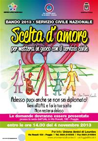 locandina servizio civile 2013