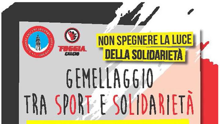 Gemellaggio tra sport e solidarietà 2016